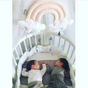 Kid regalo creativo decorazione domestica sveglia cloud comodino pendente dolce nuvola decorazioni luminose ins Stile