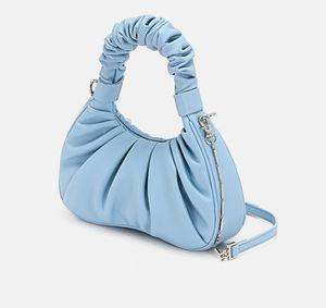 Женская сумка лето модный супер огонь маленький мешок облако пакет сложите Crossbody подмышки мешок женщина тотализатор сумки