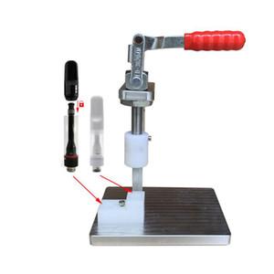 New Design Portable Manual Press Machine For Full Ceramic Disposable Vape Cartridge 510 Oil Tank Hand-operated Press