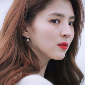 quality New Korean TV Star Fashion Metal Circle Drop Earrings For Women Elegant Pearl Delicate Zircon Pendientes Jewelry Gift