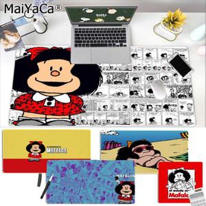 MaiYaCa New Design Cartoon Mafalda Large Mouse pad PC Computer mat Free Shipping Large Mouse Pad Keyboards Mat