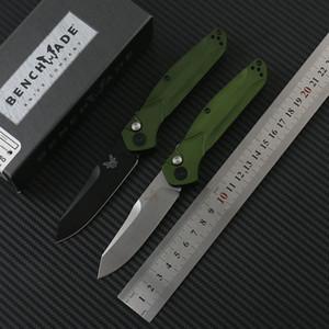 Benchmade 9400 sola acción del cuchillo de plegado automático S30V hoja de acero mango de aleación de aluminio al aire libre plegable del cuchillo de los cuchillos tácticos EDC