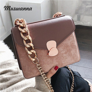 Frosted Small Flap Bag Flip Women Bag Chain Shoulder Messenger Simple Dinner Clutch Purse Leather Female Bags 2019 utbL#
