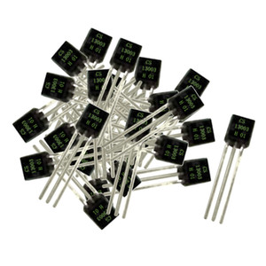 100 Pieces Electronic Current Transistor Triode 13003 400V 1A 0.8w NPN TO-92