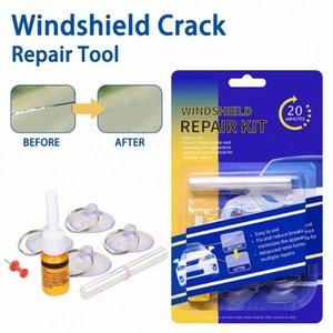 Лобовое стекло Ремкомплект Quick Fix автомобилей Cracked ветровое стекло Repair Tool Kit Auto Window экрана Полировка лобового стекла Корректор m4GD #
