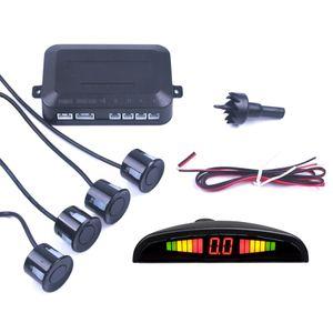 Auto Auto-Parktronic LED-Parken-Sensor mit 4 Sensoren Rückunterstützung Auto-Parken-Radar-Monitor-Detektorsystem Anzeige Beleuchtung
