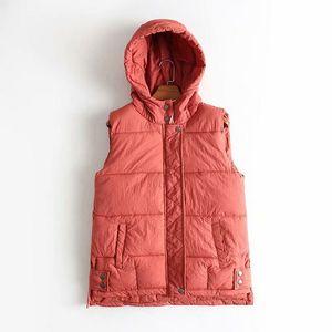 Women's Vests 2021 Autumn And Winter Down Loose Korean Version Cotton Padded Vest Female Waistcoats Sleeveless Jackets