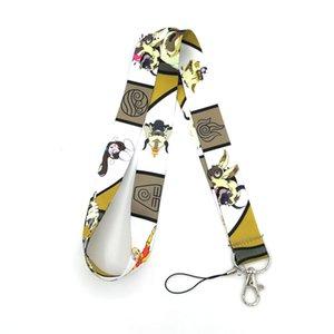 RE247 Avatar appa cartoon Neck id Lanyard keychain Mobile Phone Strap ID Badge Holder Rope Key Chain Keyrings cosplay Accessory