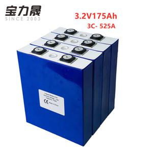 3.2V 175Ah LiFePO4 batterie lithium fer 4PCS Cycle cellulaire Phosphate 4000 fois 3C 500A solaire 12V 176Ah 180Ah PAS EU US TAX FREE