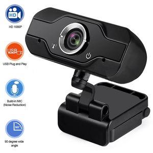 HD Webcam Built-in dual Microfoni intelligente 1080P Web Camera USB Camera Pro flusso per Desktop PC Laptop Game Cam per l'OS di Windows
