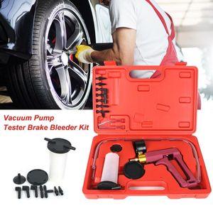 MH2023 Hand Held Vacuum Pressure Pump Tester Tool Brake Bleeder Kit Adapters for Autos Hand held repair tool