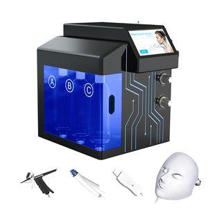 Spa H2-O2 Hydra Dermabrasion Aqua Peel Skin Care Face Lifting Hydro Oxygen Facial Jet Spray Machine on sale