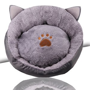 Cat Ears Bed House Soft Long Plush Best Pet Dog Bed For Dogs Basket Pet Products Cushion Cat Mat House Animals Sofa