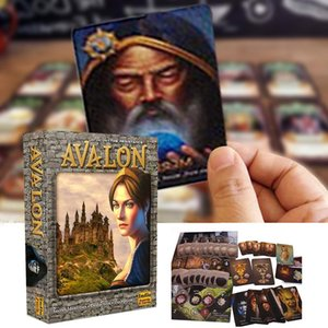 Tarot Kartları ile Yönetim Kurulu qyllnI allguy Çalma İngilizce Tarot Kılavuzu Oyun Sağlam Avalon Kart Kart dropshipping Dayanıklı Yeni Eğlence