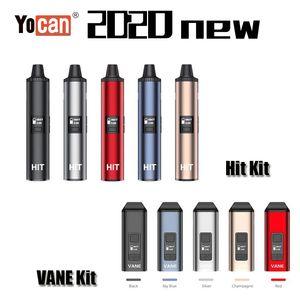 100% Original Yocan Evolve Plus XL Magneto Hit VANE Dry Herb Wax Vaporizer Kit 1100 1400mAh Battery Ceramic Heating Vape Pen Authentic