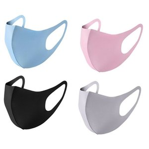 Anti Dust Face Cover PM2.5 Mask Respirator Dustproof Anti-bacterial Washable Reusable Ice Silk Cotton Mask