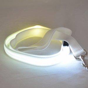 Pet Dog Puppy Collar Led Luminous Traction Rope Hauling Led Dog Haulage Cable Pets Led Leash For Small Dogs
