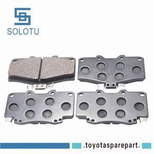 Front Disc Brake Pad Kit For LAND CRUISER 3RZ-FE 5VZ-FE 04465-35280 gRRt#