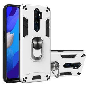 Étui de téléphone robuste pour OPPO RENO 3 PRO Hard Cover Cover pour Oppo Realme 6 PRO C11 C11 A92S Cas Kicksystand