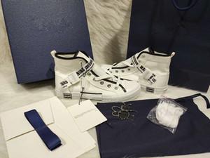 Moda sıcak satış erkekler ve kadınlar 3D nefes hafif spor ayakkabıları rahat ayakkabılar mavi ambalaj kutusu mavi hediye çantası aksesuarları örgü sneaker