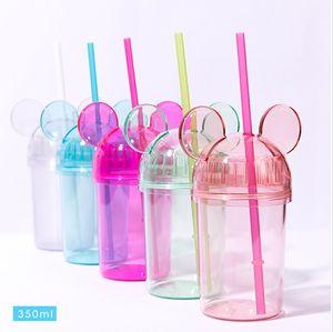 Botella vendedor caliente de 12 oz 16 oz de agua BPA Niños Libres de mujeres lindas chicas de la oficina taza de café botella de agua del vaso de envío de DHL