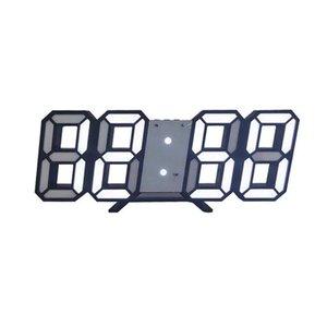 3D Large LED Digital Wall Clock Date Time Celsius Nightlight Display Table Desktop Clocks Alarm Clock For Home Living Room