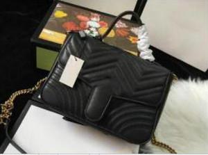 Новый стиль дизайнер сумки плеча женщин цепи Crossbody сумка Pu кожаные сумки кошелек Женский посыльного женщины не 26см нет коробки