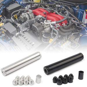 11pcs алюминиевый автомобиль Топливный фильтр Топливный Trap 1 / 2-28 5 / 8-24 Automotive Топливный фильтр 1X6 Solvent Ловушка для Напе 4003 Wix 24003