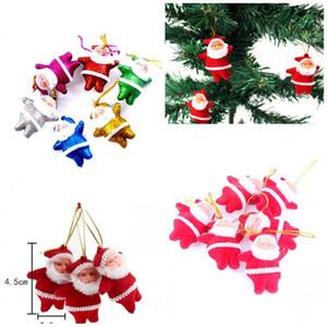 Pequeño Papá Noel personalizado Adornos de Navidad Decoración 2020 Delicado colgante del árbol regalos Fashionables lindo creativo F2 0 2zm