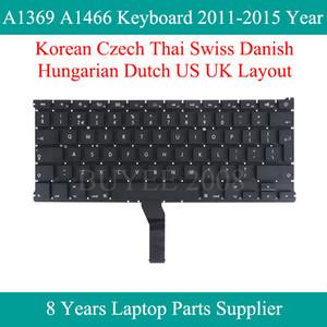 """Für 0,3"""" Laptop A1369 A1466 Korean Czech Thai Schweizer Dänisch Ungarisch Niederländisch Keyboards 2011-2020 Jahr Replacement"""