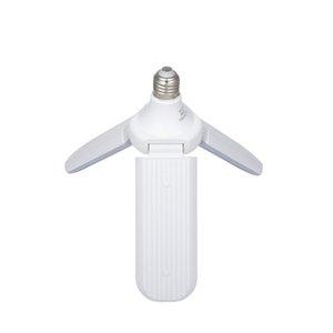 cgjxs 45w E27 LED Birne Smd2835 228leds super helle faltbare Fan Blade Winkel einstellbar Deckenleuchte Home Energiesparlampen