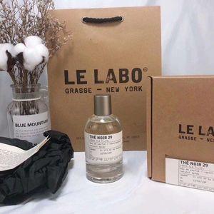 HotNeutral Perfume Le Labo Santal 33 Bergamote 22 Rose 31 El Noir 29 La más alta calidad Duradera Aromática Aromática Aroma Fragancia Desodorante 100ml