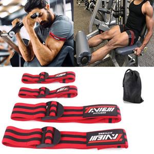 Bands Fitness Gym Bodybuilding occlusione del flusso sanguigno pesi restrizione Band piedino del braccio avvolge muscolare Treno Palestra Equipmen