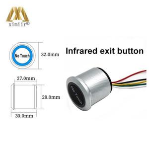 لا إحساس اللمس الخروج التبديل الحث نوع حثي خروج الإصدار زر التبديل التحكم في الوصول DC12V مع ضوء LED المؤشر