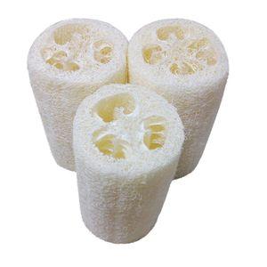 Natural Loofah Bath Body Shower Sponge Scrubber Sponge Exfoliating Body Cleaning Brush Pad Luffa Cut