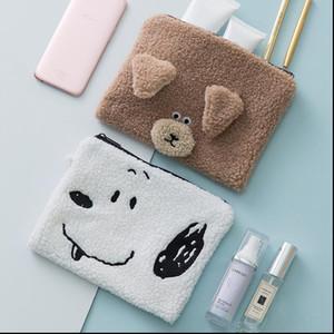 Cartoon Animal Bear Cosmetic Bag Travel Make Up Portable Makeup Case Organizer Toiletry Beauty Wash Women Storage Zipper Pouch
