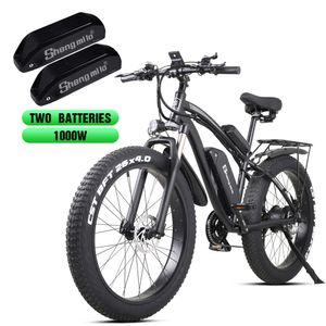 shengmilo oficial do produto mx02s 26 polegadas ATV elétrica montanha poder snowmobile bicicleta 1000W Bafang de bicicletas a motor elétrico