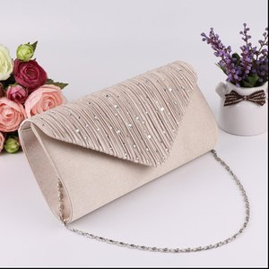 Women Evening Clutch Bag Diamond Sequin Clutch Female Crystal Clutch Evening Bag Wedding Purse Party Banquet Black Gold Silver