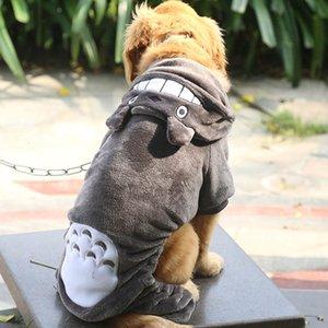 Büyük Köpek Giyim Coats For Dogs Golden Retriever Pitbull Giyim Büyük Beden Kış Polar Köpek Ceket Hoodie Pet Kostüm 9XL Isınma