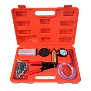Car Handheld Vacuum Pressure Pump Tester Kit Hand held repair tool Brake Bleeder Kit Brake Fluid Bleeder with Box