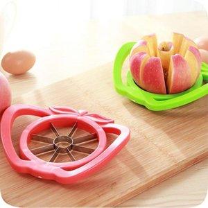 Gadgets de cuisine en acier inoxydable carottier Trancheuses Destructeurs facile Cutter Cut Fruit couteau Cutter Apple poire Go Splitter nucléaire DHB1293