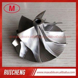 RHF55 5 + 5 lâminas 52,00 / 67,00 milímetros turbo tarugo / moagem / alumínio 2618 roda do compressor