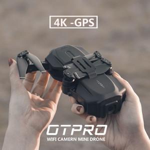 OTPRO GPS صغيرة بدون طيار 4K مع HD كاميرا FPV WIFI كوادكوبتر البصرية تدفق المواقع ألعاب الهليكوبتر المهنية طوي PRO1