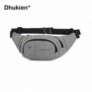 2018 New Fanny Pack Unisex Canvas Waist Bag Fashion Men Women Travelling Phone Bags New Style Waist Pack VLp6#