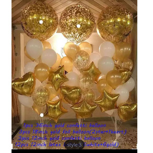 New creative childrens birthday party wedding decoration balloon combo set event venue atmosphere layout
