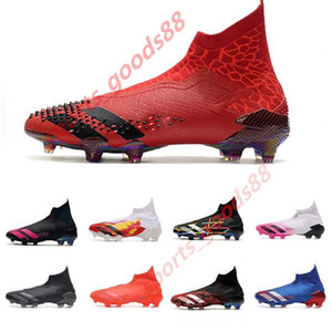 2020 Soccer Boots alta Predator 20+ senza lacci ADV Edition di Dragon limitata Nucleo nero Shock Rosa gioventù bambini grandi Mens Località pacchetto Calcio