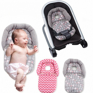 Newborn Stereotype Pillow Baby Carriage Folding Pillow Baby Cart and Rockers Neck Head Cushion Protection Stroller 15wD#