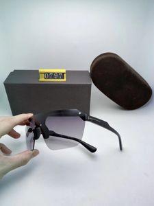 Designer Square Sunglasses Men Women 0797 Vintage Shades Driving Polarized Sunglass Male Sun Glasses Fashion Metal Plank Sunglass Eyewear