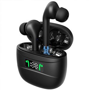 J3 Pro Tws drahtlose Bluetooth-Kopfhörer Sport-Kopfhörer mit Touch Control Bluetooth 5.2 LED-Anzeigen-Kopfhörer für alle Handys