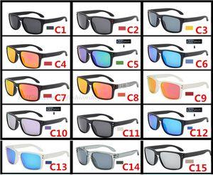 الرياضة الاستقطاب التوقيع النظارات الشمسية النظارات ركوب الخيل الصيد 9102 جودة عالية نظارات UV400 حماية العين 15 الألوان